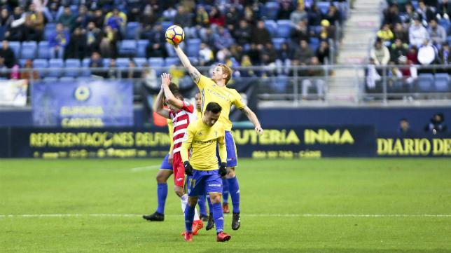 El Cádiz CF sigue en su línea.