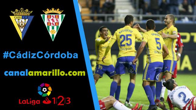 El Cádiz CF comienza la segunda vuelta recibiendo al Córdoba
