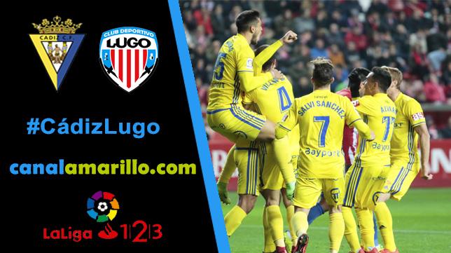 El Cádiz CF quiere volver a ganar en Carranza ante un fuerte Lugo