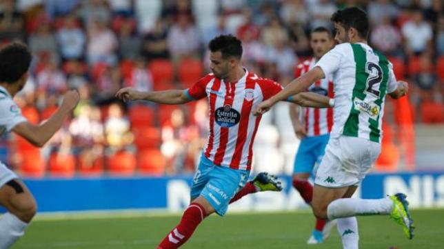 Campillo es uno de los referentes del CD Lugo.