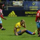 El Cádiz CF se tuvo que conformar con un empate ante el CD Lugo.