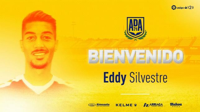 Eddy Silvestre, jugador de la ADA Alcorcón.