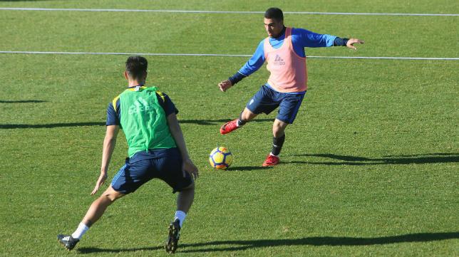 El Cádiz CF continúa este lunes con sus entrenamientos.