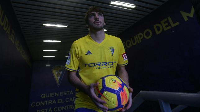 Eugeni, nuevo jugador del Cádiz CF.