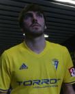 Eugeni, centrocampista del Cádiz CF. Foto: Cádiz CF.