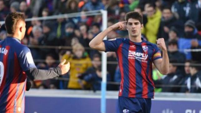 Gonzalo Melero es el máximo goleador del Huesca.