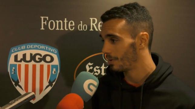 Iriome, jugador del Lugo. (Foto: CD Lugo).