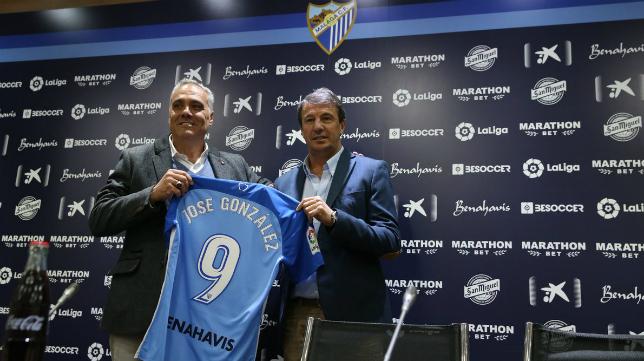 Jose González, nuevo entrenador del Málaga. Foto: Málaga CF.