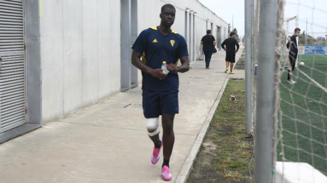 El central senegalés Sankaré no ha debutado esta temporada.