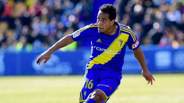 Lucas Bijker, lateral del Cádiz CF.