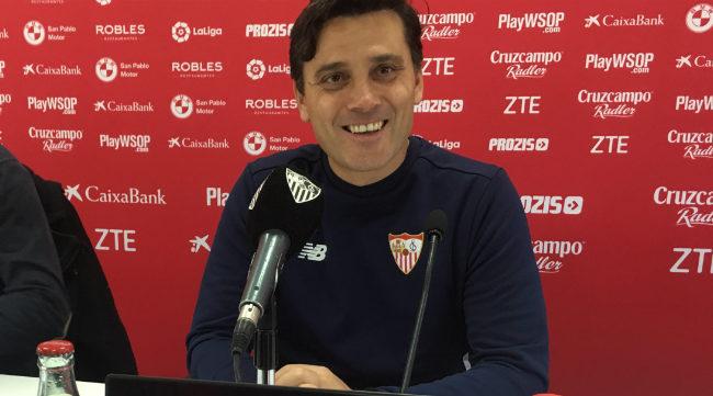 Montella, entrenador del Sevilla FC