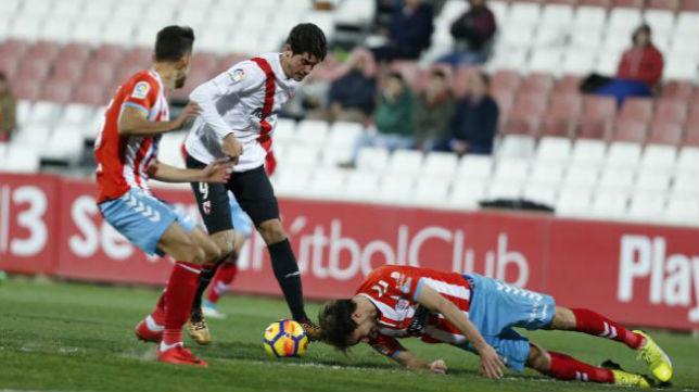 El CD Lugo sacó un punto en Sevilla esta temporada.