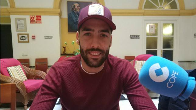 Alberto Perea, protagonista en Cope Cádiz.