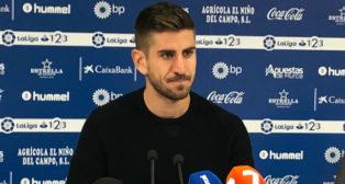 Dani Ojeda, atacante del Lorca. Foto: Lorca FC.