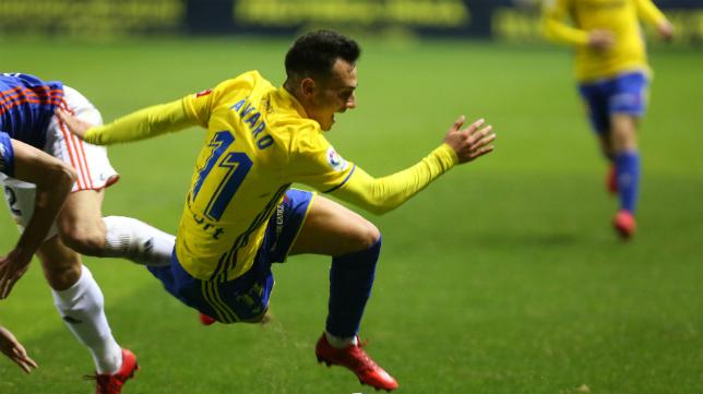 Álvaro García recibió una cartulina amarilla.