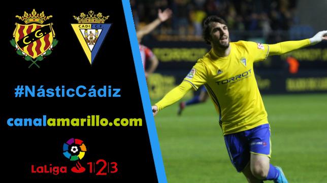 El Cádiz CF busca la victoria en su visita al Nástic