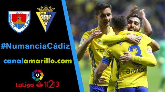 Ganar, objetivo del Cádiz CF en Soria