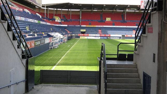 El Sadar, estadio de CA Osasuna.