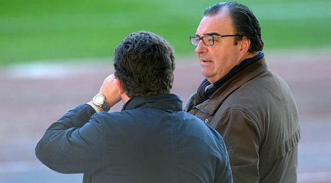 Santiago Pozas en su etapa en el Real Betis