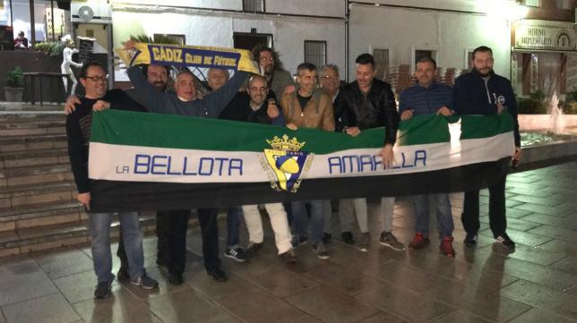 La recién creada peña cadista Bellota Amarilla tiene su sede en Monesterio.