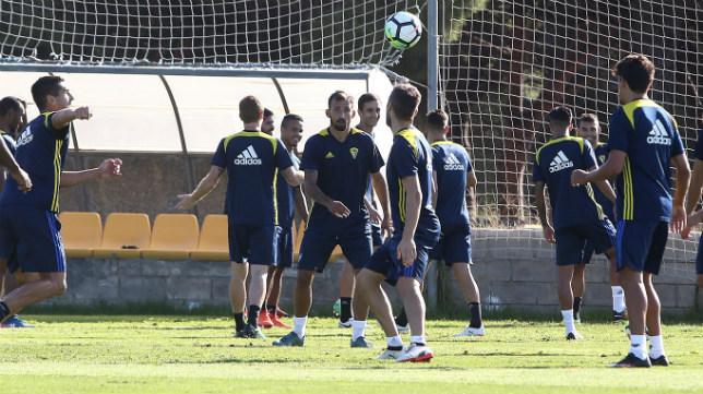 El Cádiz CF entrenará este martes.