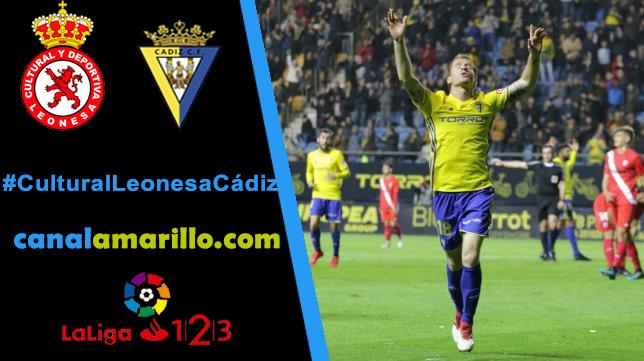 Los tres puntos, objetivo del Cádiz CF en León