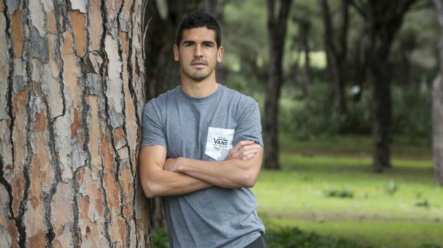 Jon Ander Garrido, mediocentro del Cádiz CF. Foto: Antonio Vázquez.