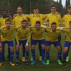 Uno de los onces del Cádiz CF B en la presente temporada liguera.