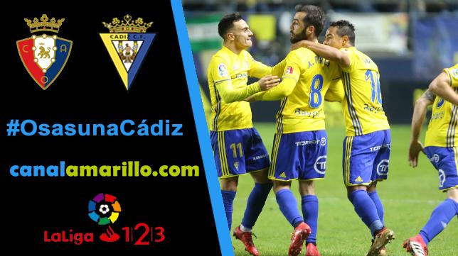 Reencontrarse con la victoria, objetivo del Cádiz CF en El Sadar