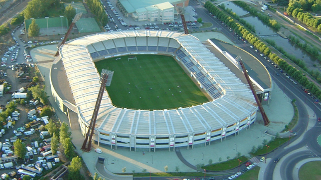 Reino de León, actual estadio de la Cultural Leonesa.