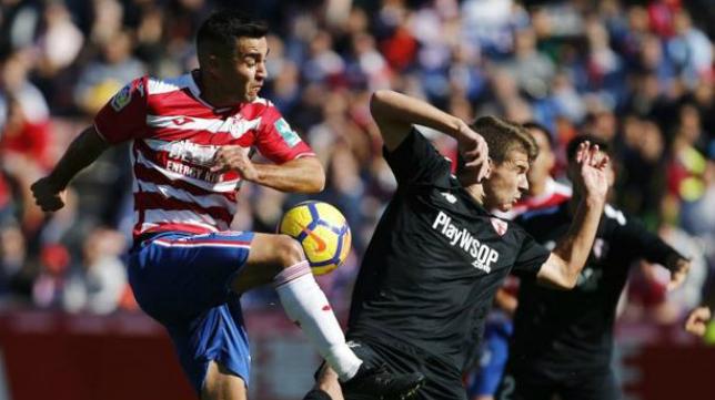 El Sevilla Atlético dio la sorpresa en Los Cármenes esta temporada.
