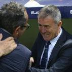 Alcaraz y Cervera plantearon un partido muy táctico.