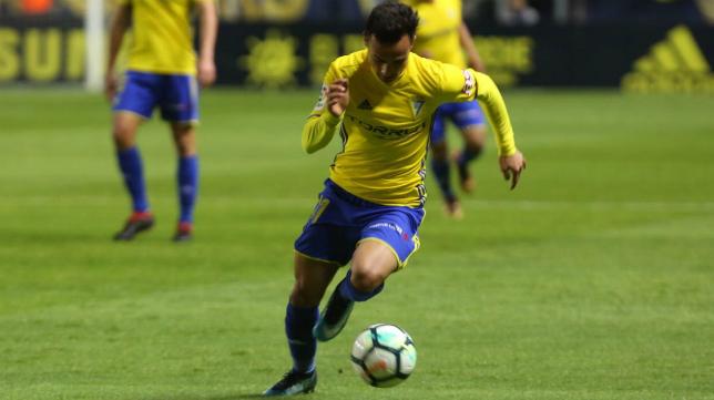 Álvaro García completó un excelente encuentro ante el Zaragoza.