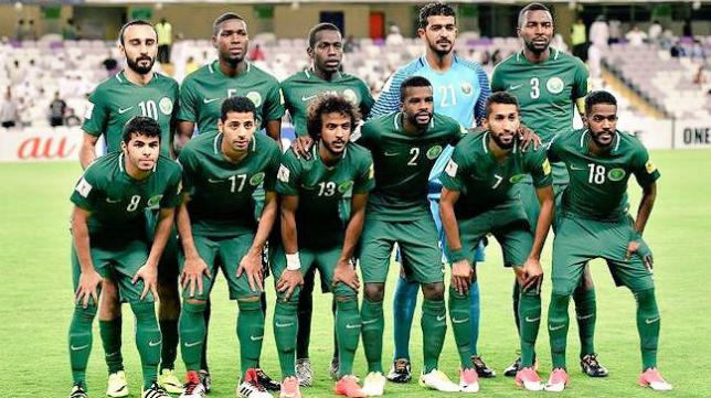 La selección de Arabia Saudí estará en el próximo Mundial de Rusia.