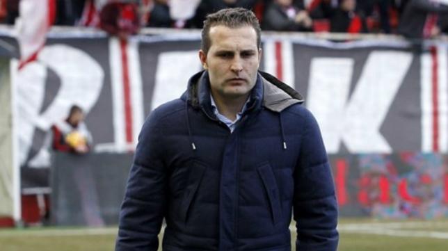 Rubén Baraja, entrenador del Sporting