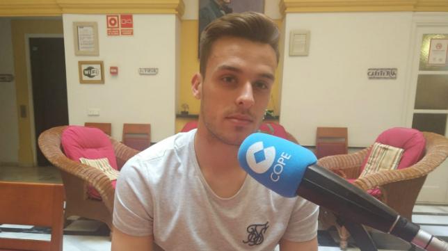 Brian Oliván fue el protagonista en la tertulia de Deportes Cope Cádiz.