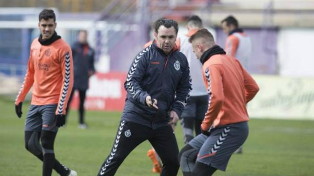 El Valladolid retomará este martes el trabajo.
