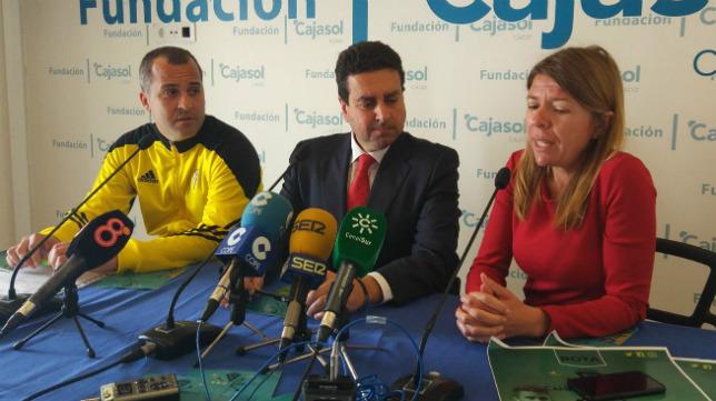 La presentación del Campus se celebró en la Fundación Cajasol.