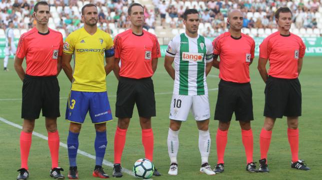 Aitor Gorostegui Fernández-Ortega arbitró el estreno liguero del Cádiz CF esta temporada.