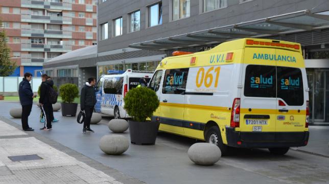 El jugador del Albacete Pelayo sufrió un grave accidente.