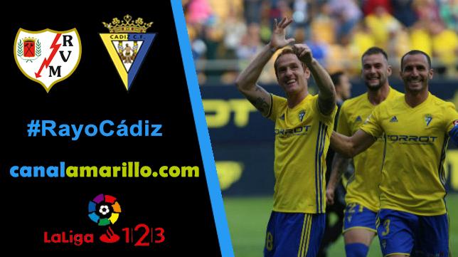 El Cádiz CF quiere dar un golpe encima de la mesa en Vallecas