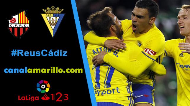 El Cádiz CF quiere reencontrase con la victoria en Reus