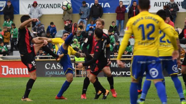 El Cádiz CF centra sus miras en el Reus.
