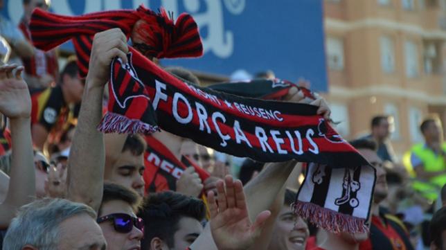 Aficionados del Reus. Foto: Revista de Reus.