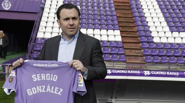 Sergio González, nuevo entrenador del Valladolid: Foto: Real Valladolid.