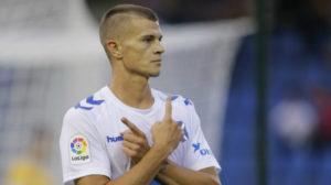 Samuele Longo jugó el año pasado en Tenerife.