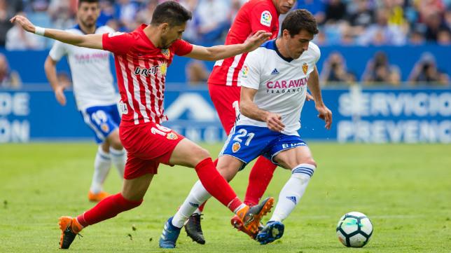 El Zaragoza superó al Almería y ahora está por encima del Cádiz.