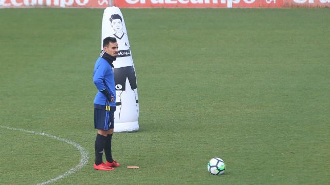 Alvarito será la principal baza del Cádiz CF ante el Barcelona B.