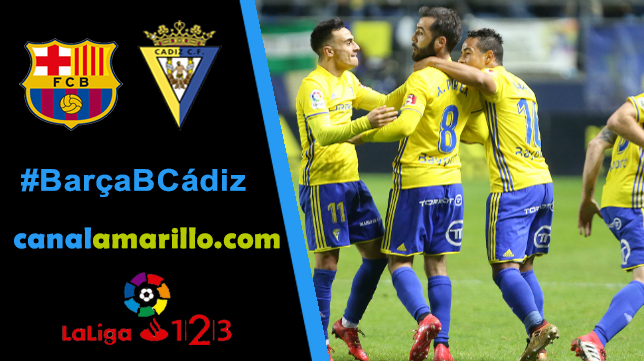 El Cádiz CF quiere dar un paso importante para el play off en Barcelona