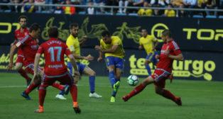 Barral marcó el 1-0 a los seis minutos del inicio del encuentro.